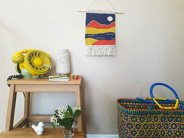 Handmade wall decor - tapestry - weaving