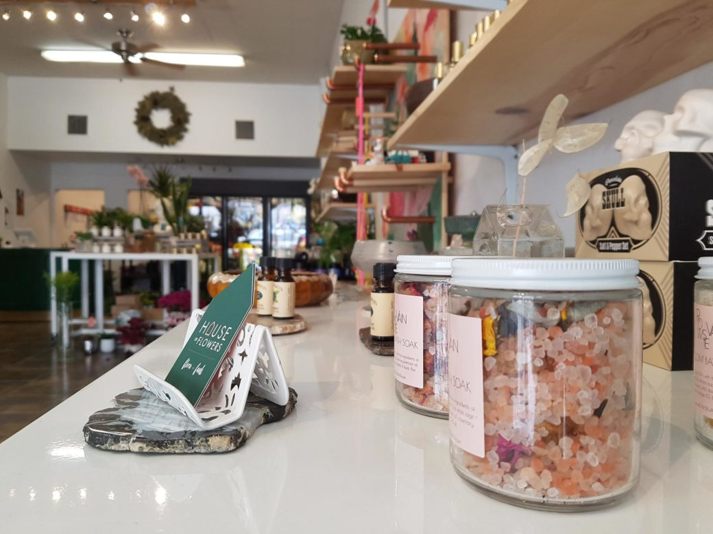 House of Flowers, Bakersfield California, selection of sold items