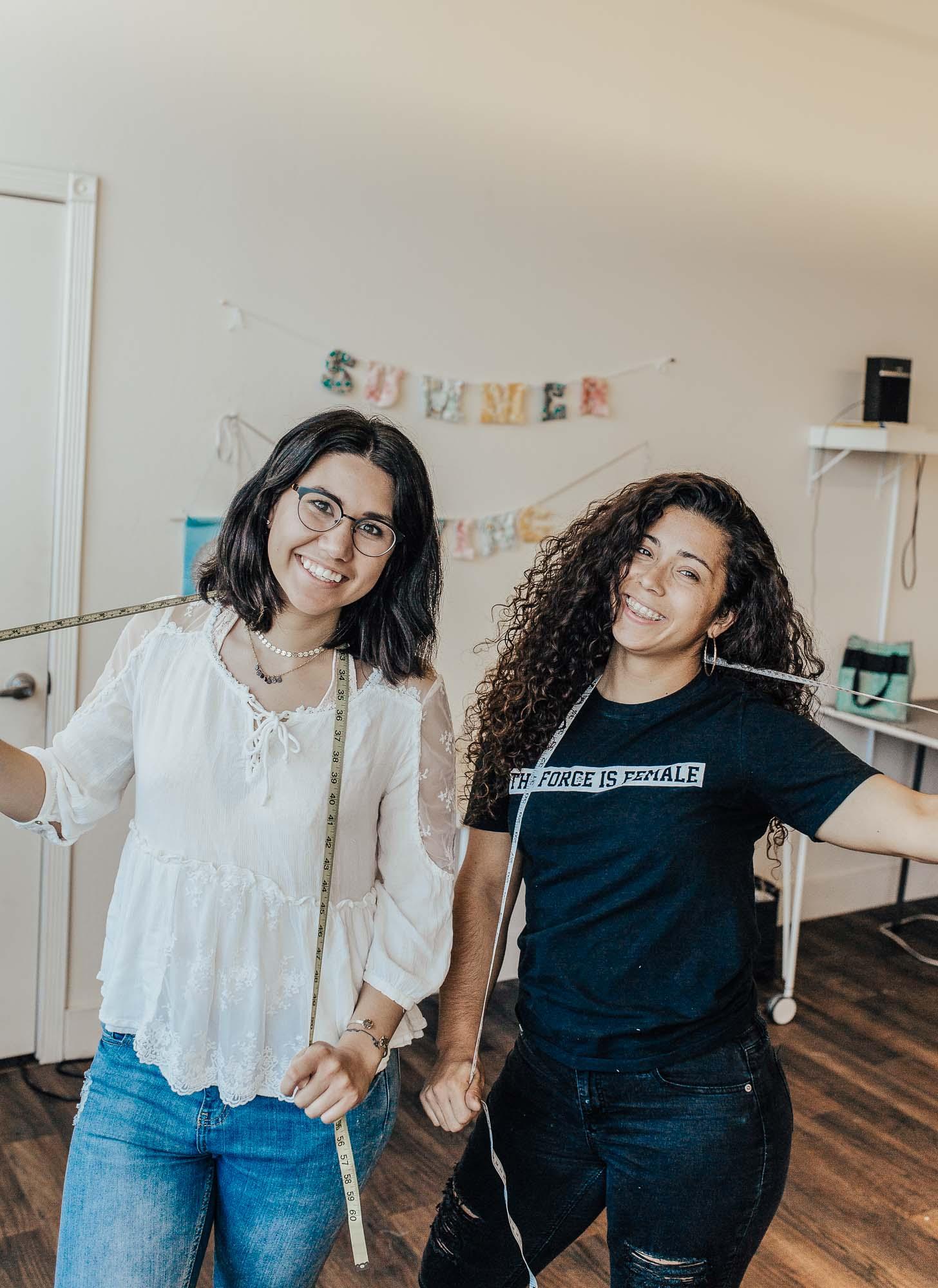 Amanda and Jocelyn in Bakersfield