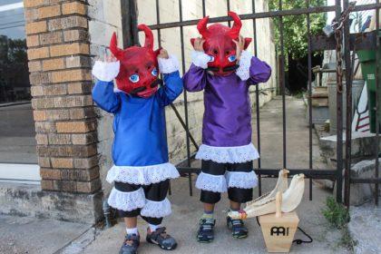 Photo of peruvian traditional masks