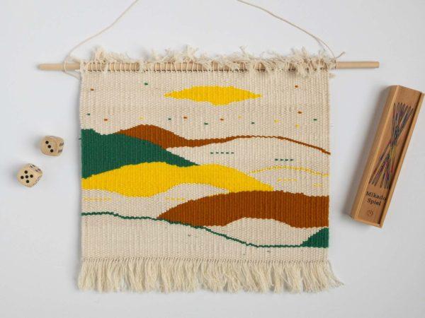 Tapisserie décor mural fait-main / Handmade tapestry weaving